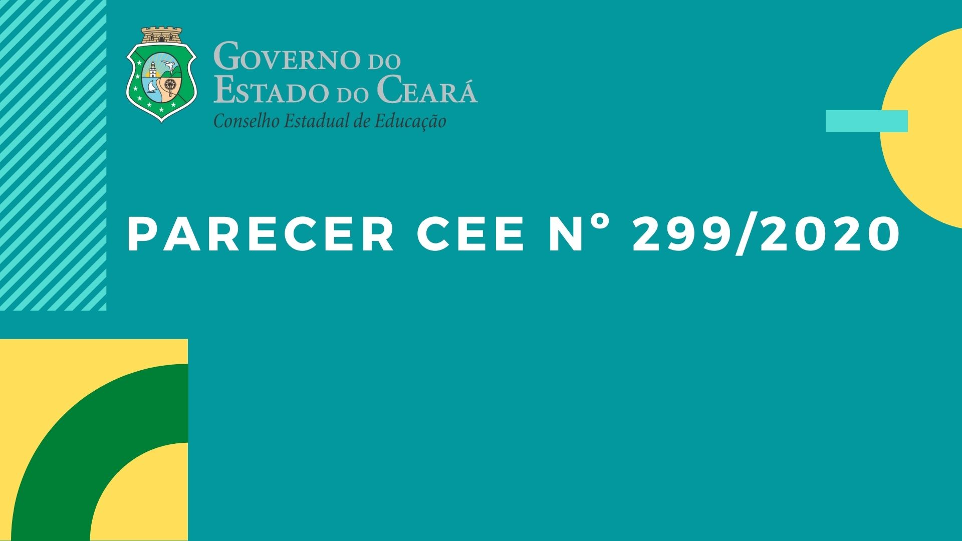 Parecer CEE Nº 299/2020