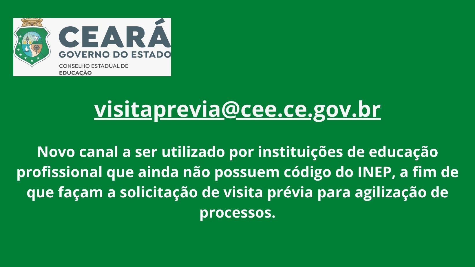 CEE centraliza solicitações de visita prévia a instituições de educação profissional